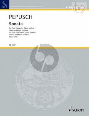 Sonata C-major (Flute[Tenor Rec./Vi./Oboe]- Violin-Harpsichord[Vc.ad lib.])