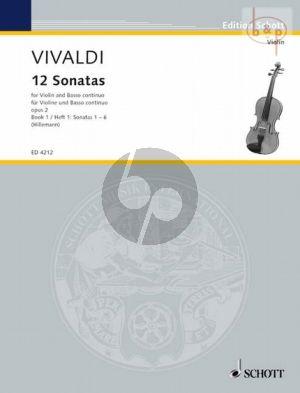 12 Sonaten Op.2 Vol.1 Violine und Bc