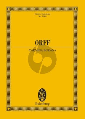Orff Carmina Burana (soloists (STBar)-mixed choir (SATB)-children's choir and orchestra) (Study Score)