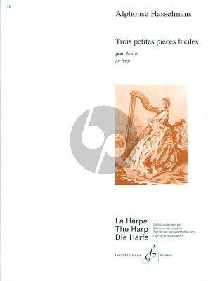 Hasselmans 3 Petites Pieces Faciles Op.9 pour Harpe (elementaire)