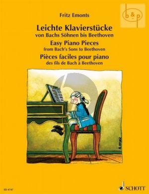 Leichte Klavierstucke der Klassik (Leichte Klavierstucke von Bachs Sohnen bis Beethoven