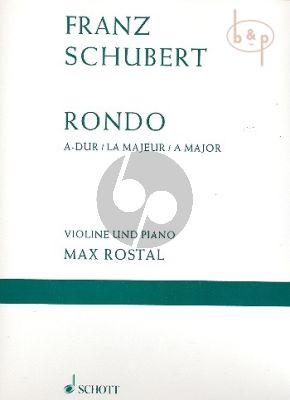 Rondo A-major D.438