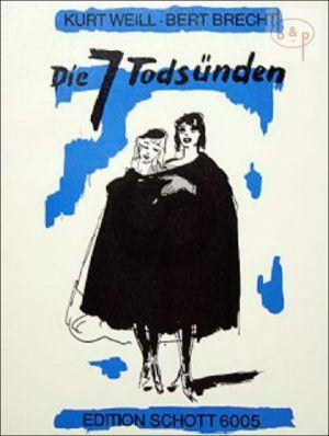 Sieben Todsunden (Brecht) (Sopr.-Orch.) (Vocal Score)