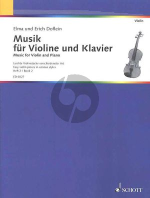 Doflein Musik Vol.2 Violine und Klavier (Easy Pieces in Various Styles)