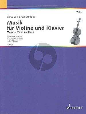 Doflein Musik Vol.3 Violine und Klavier (From Vivaldi to Viotti) (changes of position)