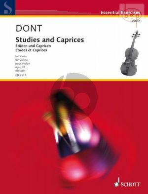 Etuden und Capricen Op.35 Violine