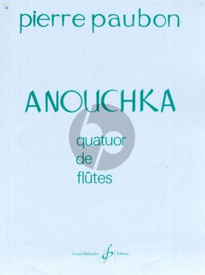 Paubon Anouchka 4 Flutes (Score/Parts)