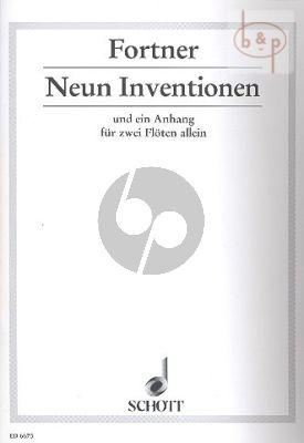 9 Inventionen und ein Anhang