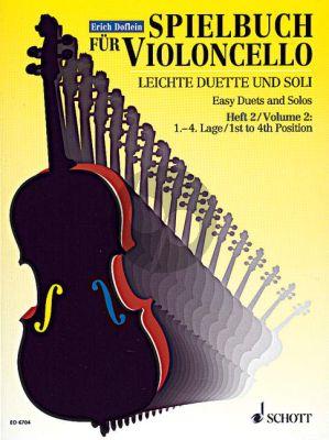 Spielbuch fur Violoncello Vol.2 (Leichte Duette und Soli aus dem 18.Jahrh.) (1st.- 4th.Pos.)