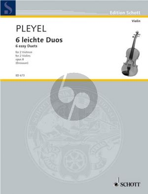 6 Easy Duets Op.8 2 Violins