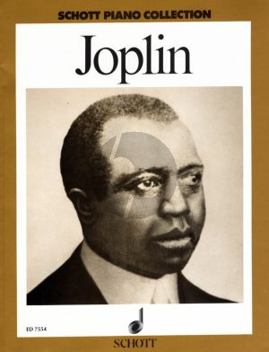 Joplin Album Klavier (Schott Piano Collection) (Wolfgang Voigt)