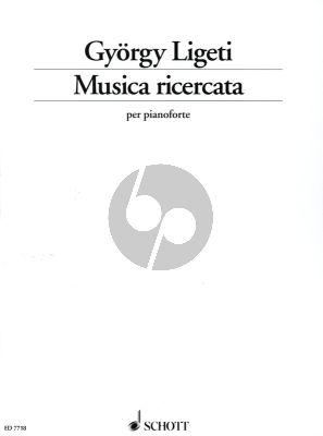 Ligeti Musica Ricercata 1951 - 53 Piano solo