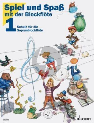 Spiel und Spass mit der Blockflöte Vol.1