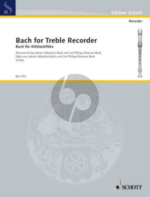Bach for Treble Recorder
