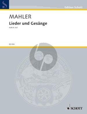 Mahler Lieder & Gesange Vol.3 Tief