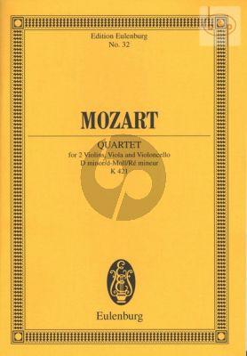 Quartet KV 421 d-minor (2 Vi.-Va.-Vc.)