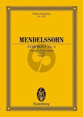 Symphony No.4 A-major Op.90 Study Score