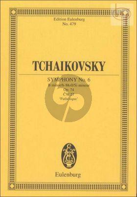 """Symphony No.6 B-minor """"Pathetique"""" (CW 27) (Orch.)"""