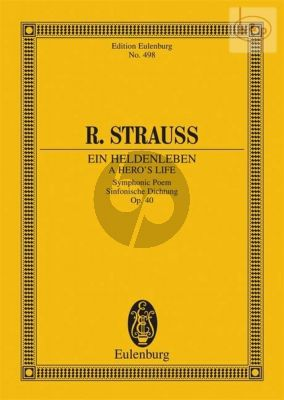 Ein Heldenleben Op.40 (Tone Poem) (Study Score)