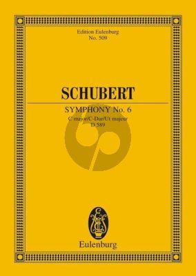 Schubert Symphonie No.6 C-dur D.589 Studienpartitur (Hermann Grabner)