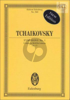 Symphony No.1 Op.13 g-minor (Orch.) (Study Score)
