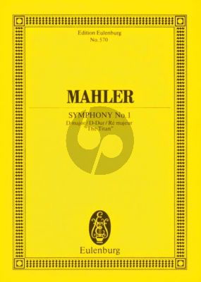 "Symphony No.1 D-major ""Titan"" Study Score"