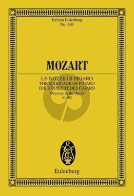 Mozart Le Nozze di Figaro Ouverture KV 492 Study Score