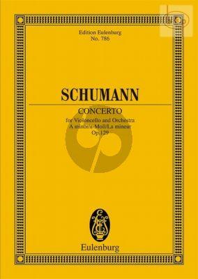 Concerto a-minor Op.129 (Violoncello-Orch.) (Study Score)