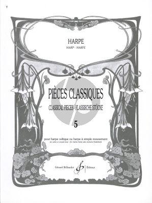 Album Pieces Classiques vol.5 pour Harpe (Edition par Dominig Bouchaud) (Moyen)