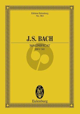 Bach Magnificat D-dur BWV 243 Studienpartitur (Arnold Schering)