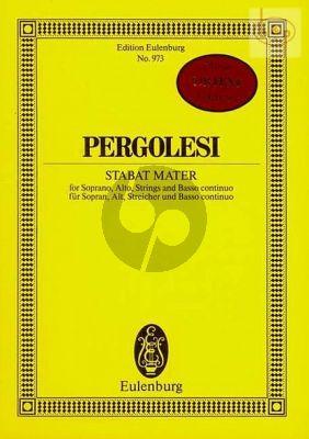 Stabat Mater (Soprano-Alto-Strings-Basso continuo)