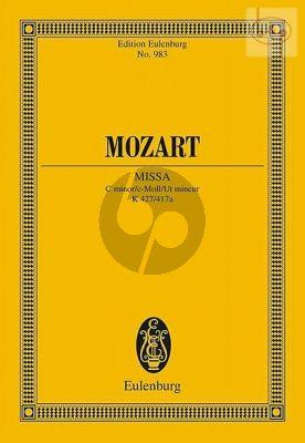 Missa c-minor KV 427 / 417a (Soli-Choir-Orch.) (Study Score)