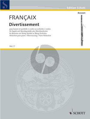 Divertissement Fagott-Streichquintett oder Streichorch.)