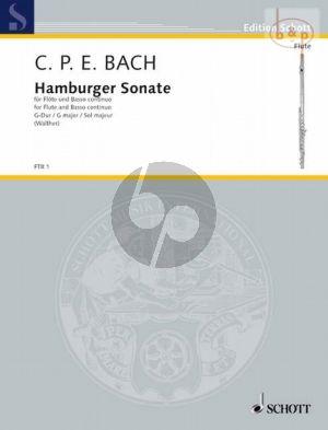 Hamburger Sonata G-major WQ 133 (Flute-Bc)