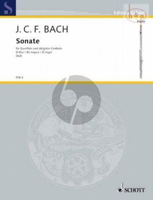 Sonata D-major Flute[Vi.]-obl. Cembalo
