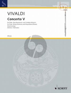 Concerto Op.10 No.5 (RV 434 /PV 2620) (Flute- Str.-Bc.)