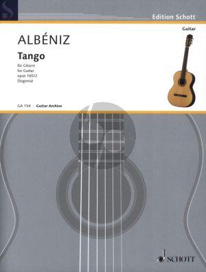 Tango Op.165 No.2 Gitarre