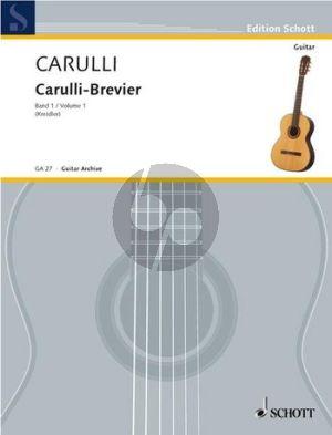 Carulli Brevier Vol.1 (Dieter Kreidler)