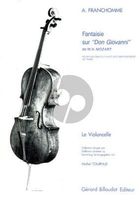 Franchomme Fantaisie sur Don Giovanni Violoncelle-Piano (Tournus)