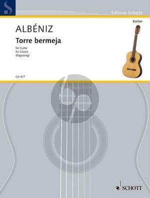 Albeniz Torre Bermeja Op. 92 No. 12 Gitarre (Serenata from Piezas caracteristicas) (Konrad Ragossnig)