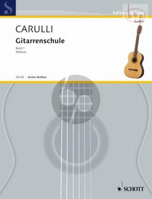 Carulli Gitarrenschule Vol.1 (edited by Ernst Hulsen)