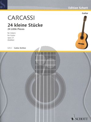 24 Kleine Stucke Op.21 Gitarre