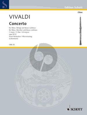 Vivaldi Concerto C-major RV 449 (F.VIII n.12) Oboe-Str.-Bc (piano red.) (W.Lebermann)