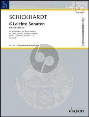 6 Leichte Sonaten Vol.1 (No.1 - 3)