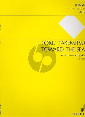 Takemitsu Toward the Sea for Alto Flute and Guitar