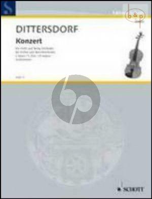 Concerto C-major (Krebs 157) (Violin-String Orch.)