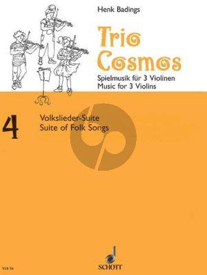 Trio Cosmos No.4 3 Violinen