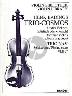 Trio Cosmos No.5 3 Violinen