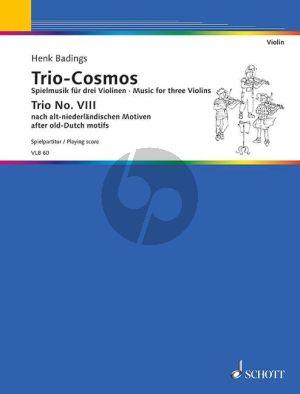 Trio Cosmos No.8 3 Violinen