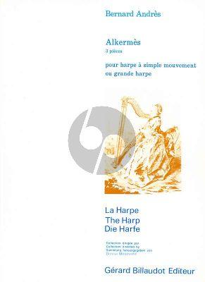 Andres Alkermes pour Harpe (3 Pieces) (intermediate level)
